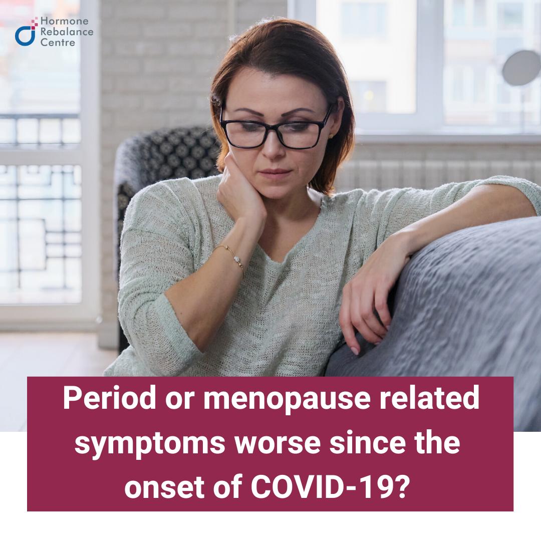 Period or menopause symptoms