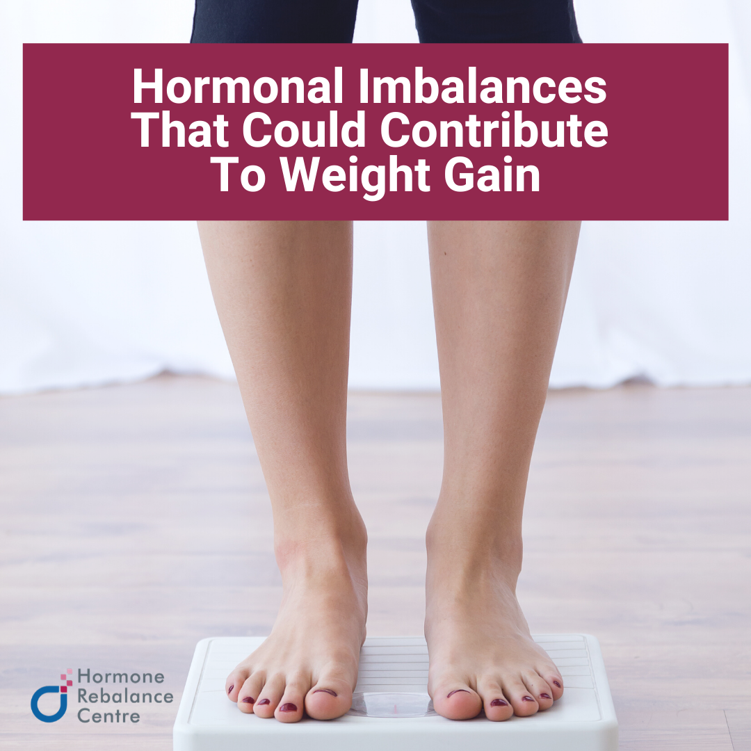 Hormonal imbalances that can contribute to weight gain