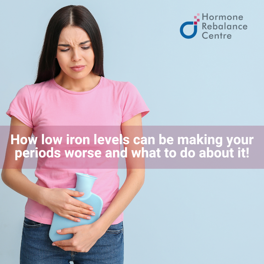 Heavy Menstrual Bleeding and Your Iron